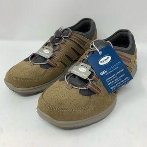 Dr Scholls Men's Tennis Shoes Brown Leather